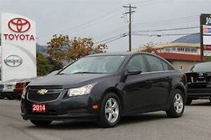 2014 Chevrolet Cruze 2LT 1.4L Turbo FWD HEATED LEATHER/Touch scr