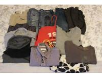 Large Bundle of Men's Branded Clothing, All Saints, Topshop, Energie etc
