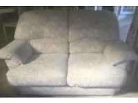 2 Saeter Sofa 1 Armchair 4 Cushions VGC