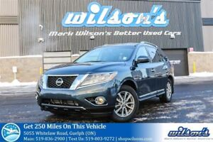 2014 Nissan Pathfinder SL 4X4! 7-PASS! LEATHER! HEATED STEERING+