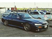 Nissan s14a stage 3a big spec show car 200sx silvia