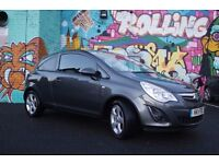 Vauxhall Corsa 1.2 i 16v SXi 3dr 2011 Metallic Grey - Excellent Condition - Lady Owner
