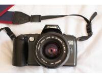 Canon EOS-500 film camera