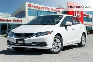 2014 Honda Civic LX|LOW KMS|HEATED SEATS|BLUETOOTH