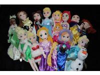DISNEY STORE _ - Lovely soft toys 17 PRINCESSES