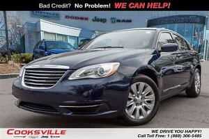 2014 Chrysler 200 LX, ONE OWNER TRADE IN