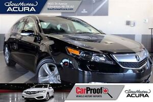 2014 Acura TL Leather, Sunroof, V6 power,AWD