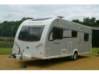 BAILEY PURSUIT 560 5 BERTH 14 TOURING CARAVAN