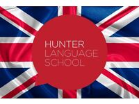 Learn English with Hunter Language School - £6 an hour English Lessons - small classes