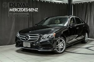 2014 Mercedes-Benz E-Class E550 4MATIC / V8 Bi-turbo