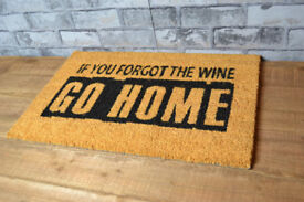 'Forgot Wine' Floor Rug Doormat