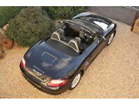 Stunning Porsche Boxster 987 in Basalt Black