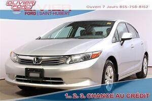 2012 Honda Civic LX (A5) FWD A/C BAS KM