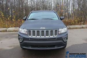 2015 Jeep Compass /High Altitude/4x4/Heated Seats/Leather/AUX Prince George British Columbia image 2