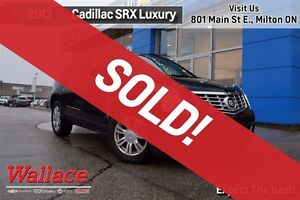 2013 Cadillac SRX LUXURY COLLECTION/ACCIDENT FREE/1-OWNER/HTD LT