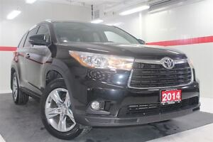 2014 Toyota Highlander Limited AWD Heated Ventilated Lthr Nav Su