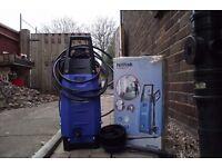 nilfisk pressure washer c/ w attachments and original box
