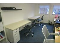 Large desk space in our peaceful, creative studio in Netil House, Hackney