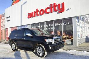 2014 Toyota Sequoia Limited   Leather   Sunroof   Touch Screen  