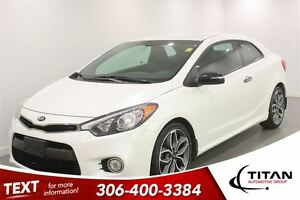 2014 Kia Forte Koup SX|Manual|Back-up Cam|Heated Leather