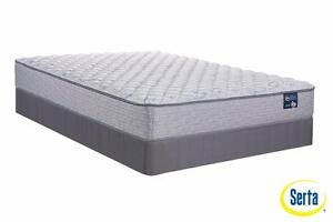 Serta Island Stay Firm Mattress Sets! Twin, Full, Queen or King!