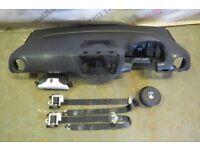 VW UP AIR BAG KIT DASHBOARD SEAT BELTS 2013-16