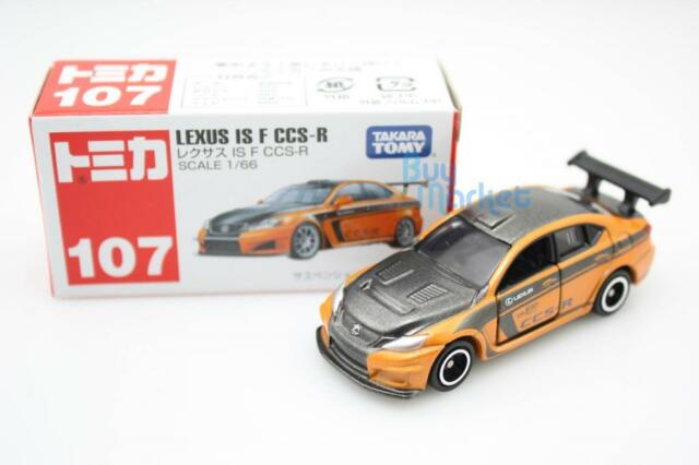 NEW Takara Tomica Tomy #107 Lexus IS F CCS-R Diecast Toy Car scale 1/66 JAPAN