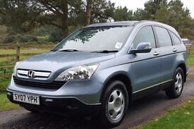 ONLY ONE OWNER FROM NEW. HONDA CRV 2.0i 4x4