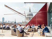 Receptionist / Host - Madison Rooftop Bar & Restaurant - £9 p/h - Full-time or Part-time