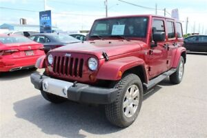 2013 Jeep WRANGLER UNLIMITED Sahara/CLEAN CARPROOF/TOWING PKG/LO