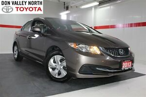 2013 Honda Civic LX Btooth Cruise Heated Seats Pwr Wndws Mirrs