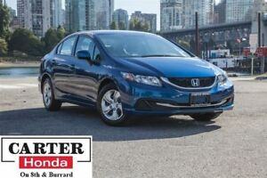 2013 Honda Civic LX + NEW TIRES! + LOCAL + AUTO + CERTIFIED!