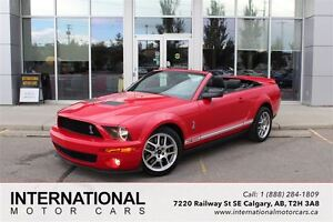 2008 Ford Mustang SHELBY GT500 CONVERTIBLE! LOW KMS!