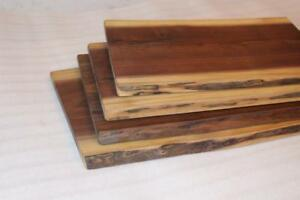 Live Edge Serving Boards, Tree Slices,  Cheese Boards, Cutting Boards, Barn Wood & Walnut Shelves - Ship across Canada