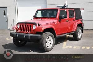 2010 Jeep WRANGLER UNLIMITED SAHARA TRAIL RATED 4X4 - 2 TOITS -