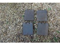 Original Victorian Castellated Path Edging Tiles 150mm x 220mm (60 tiles)