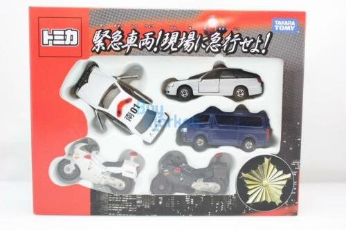 Takara Tomy Tomica Rushed to the Scene! Emergency Vehicle Set Toys Car Diecast