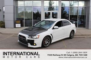 2009 Mitsubishi LANCER EVOLUTION EVO MR! WHITE! LOW KMS!