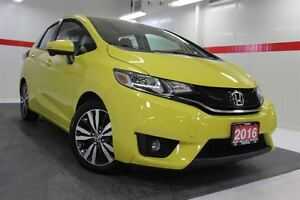 2016 Honda Fit Heated Lthr Nav Sunroof Btooth BU Camera Cruise A