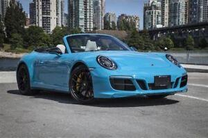 2018 Porsche 911 Carrera Cabriolet GTS *Porsche Ceramic Brakes!