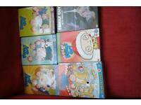 Family guy dvds
