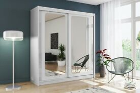 3 Door Stunning New Design Wardrobe Different Colours & Sizes
