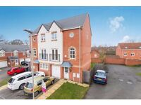 3 Bedroom Townhouse to Rent in Hamilton Leicester LE5 Excellent condition Avail 1st April