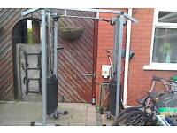 Gym master cable machine