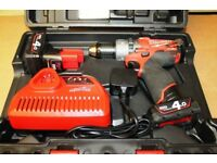 New Milwaukee M12CPD-402C M12 Fuel 12v Brushless Cordless Combi Hammer Drill Kit (2 battery)