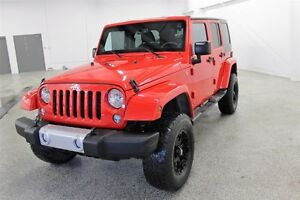 2014 Jeep Wrangler Unlimited Sahara -SK tax paid, Navi, Remote S