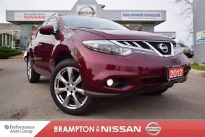 2012 Nissan Murano Platinum *Leather, Navigation, Heated seats*