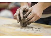 pottery workshop Saturday £34/head offer price