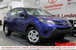 2014 Toyota RAV4 SINGLE OWNER FWD LE BRAND NEW BRAKES