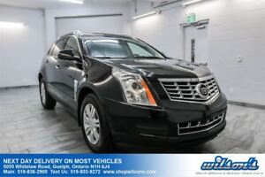 2015 Cadillac SRX LUXURY AWD SUV! LEATHER! SUNROOF! BLIND SPOT M